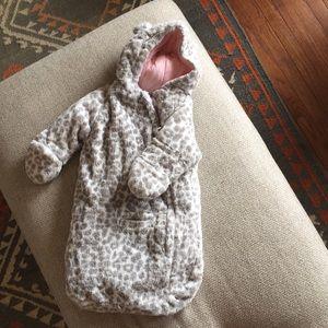 Fleece sack/jacket